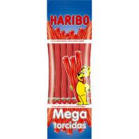 HARIBO regaliz rojo Mega Torcidas bolsa 200 g