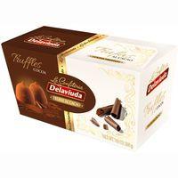 Trufas al cacao DELAVIUDA, caja 200 g