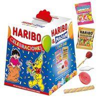 Cajita surtido celebraciones HARIBO, pack 1 unid.